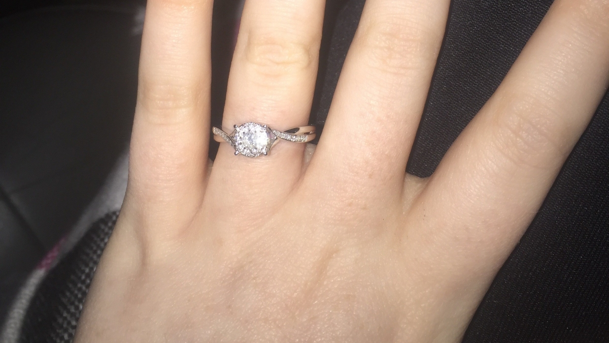 We're Engaged (well now with a ring!)